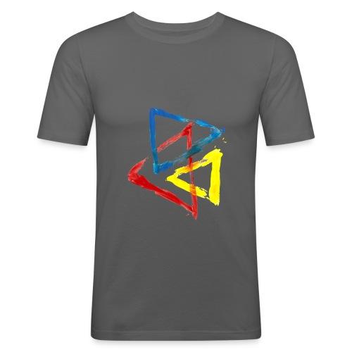 Geometric - Maglietta aderente da uomo
