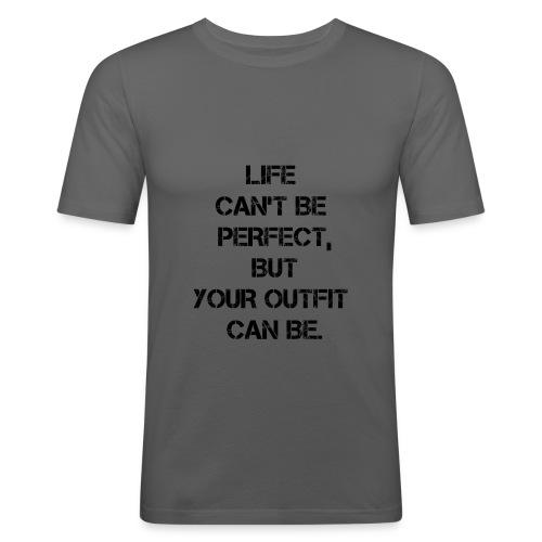Life Motivation 2 - Maglietta aderente da uomo