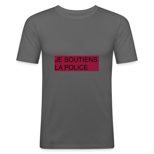 SOUTIENS POLICE - T-shirt près du corps Homme