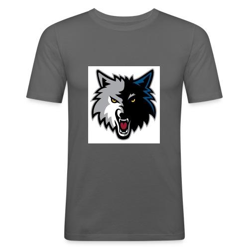 minnesota-timberwolves-logo - Men's Slim Fit T-Shirt