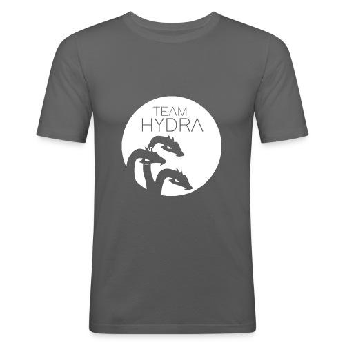 The Hydra White - Männer Slim Fit T-Shirt