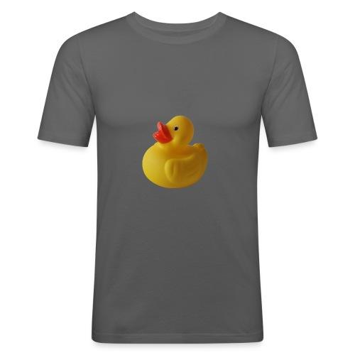 Das Gummienten-Prinzip - Männer Slim Fit T-Shirt