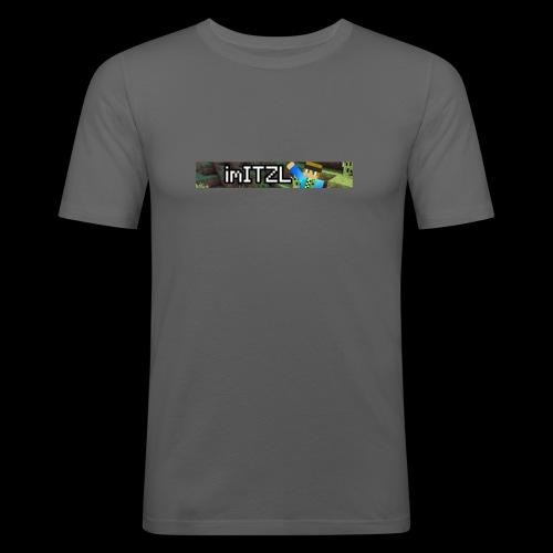 imITZL - Männer Slim Fit T-Shirt