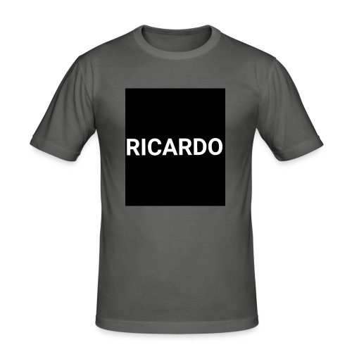 RICARDO BLAACK - Männer Slim Fit T-Shirt