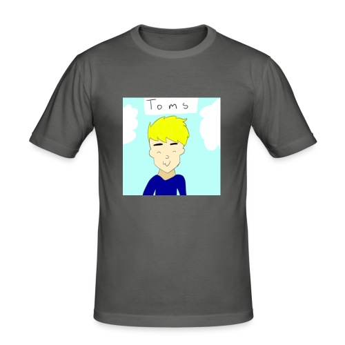 TomsYT Stæsj - Slim Fit T-skjorte for menn