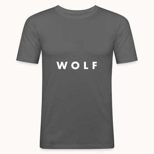 wolf - T-shirt près du corps Homme