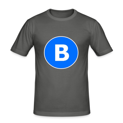 BluePrison - Herre Slim Fit T-Shirt