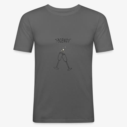 Champagne - T-shirt près du corps Homme