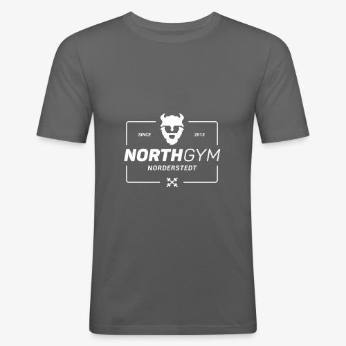 ng logo modern - Männer Slim Fit T-Shirt