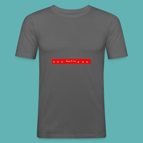 Merry X-mas - Männer Slim Fit T-Shirt
