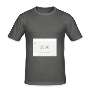 1966 - Original Design - Männer Slim Fit T-Shirt