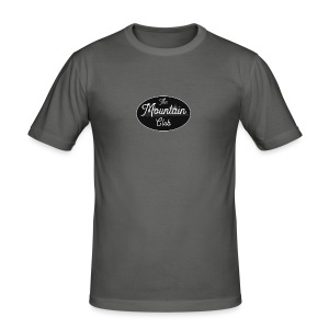 The Mountain Club - Men's Slim Fit T-Shirt