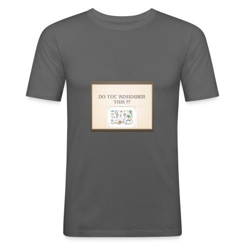 P1 - T-shirt près du corps Homme