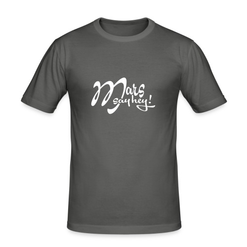Mars_Say_Hey_V3 - T-shirt près du corps Homme