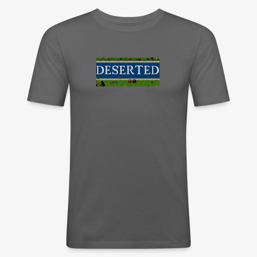 Deserted: The Story of Peter Logo - Maglietta aderente da uomo