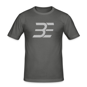 BE_Logo - Männer Slim Fit T-Shirt