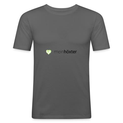 Mein Höxter Logo - Männer Slim Fit T-Shirt