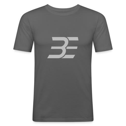 BE_Logo - Männer Slim Fit T-Shirt