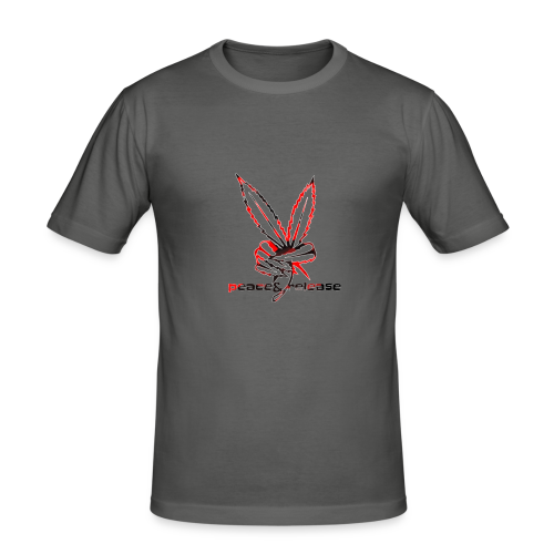 Peace&release red/black edition - slim fit T-shirt