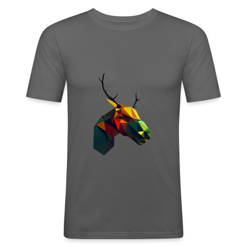 Peura - Miesten tyköistuva t-paita
