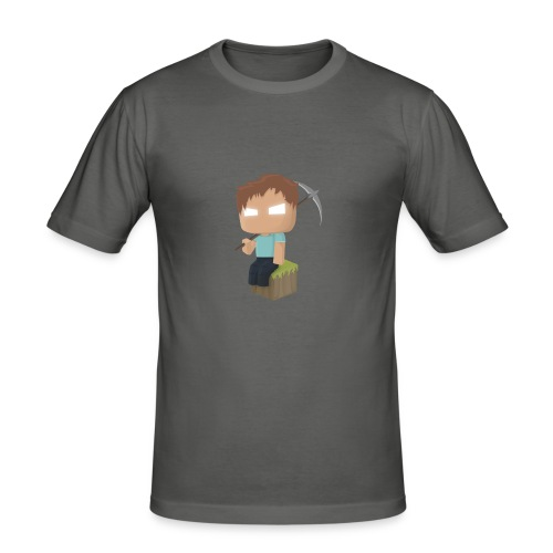 Collection Minecraft.fr - T-shirt près du corps Homme