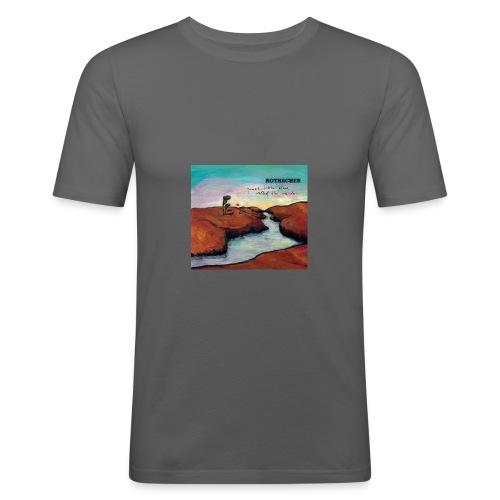 Quiet Litte Place Called The Inside - Männer Slim Fit T-Shirt