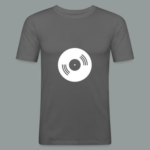 Anlogkid Scheibe - Männer Slim Fit T-Shirt