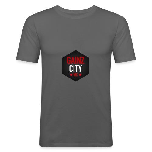 GAINZ CITY - MC - Slim Fit T-shirt herr