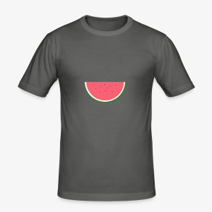 STERN MELONE - Digital MELON - Digital Fruit - Männer Slim Fit T-Shirt
