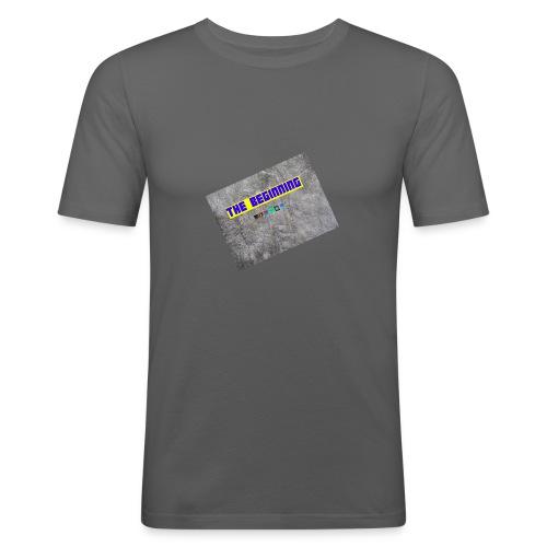 The Beginning - Men's Slim Fit T-Shirt