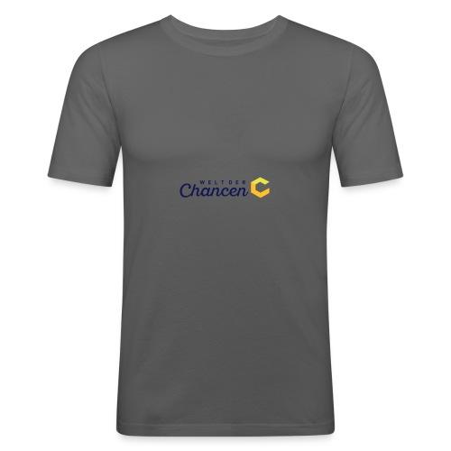 Welt der Chancen - Männer Slim Fit T-Shirt