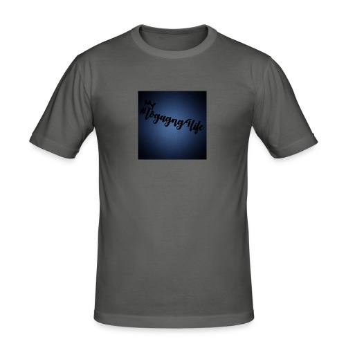 #logagng4life - Men's Slim Fit T-Shirt