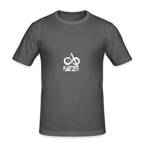 omy styl - T-shirt près du corps Homme