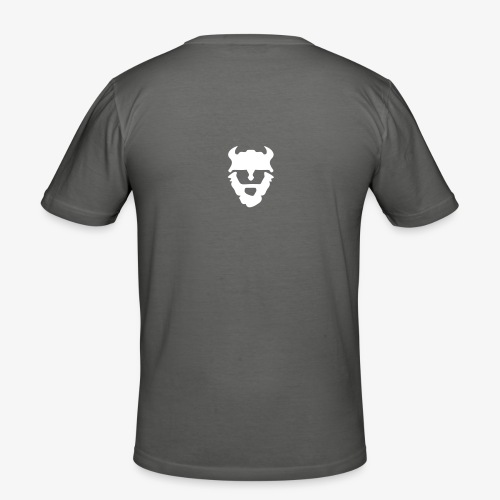 NORTH GYM Viking Head - Männer Slim Fit T-Shirt