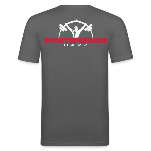Sportsfreunde Harz - Männer Slim Fit T-Shirt