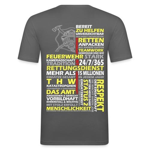 FWD08 - Männer Slim Fit T-Shirt