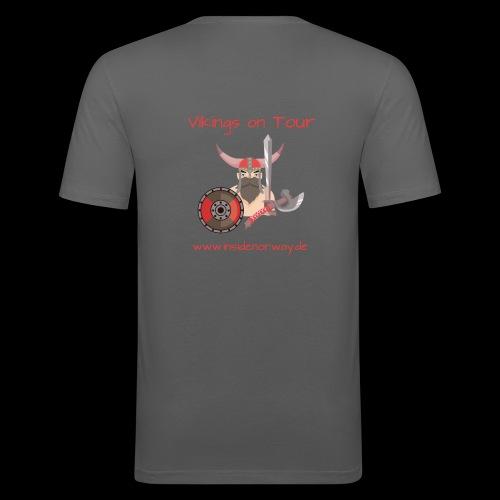 Insidenorway - Männer Slim Fit T-Shirt