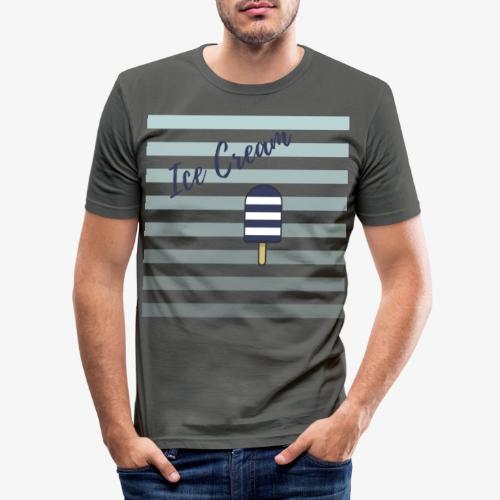 Ice Cream - T-shirt près du corps Homme