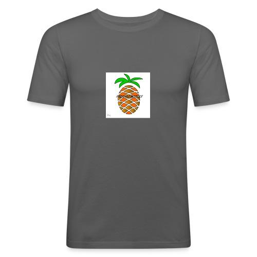 PINEAPPLE REEBOOT 6/6S COVER HVID - Herre Slim Fit T-Shirt