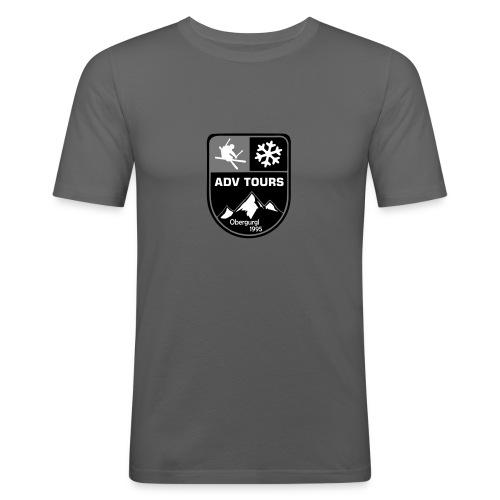 EAT Badge - Männer Slim Fit T-Shirt