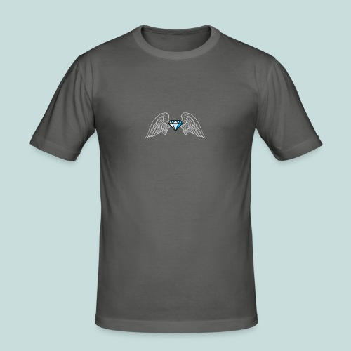 Bling angel - Men's Slim Fit T-Shirt