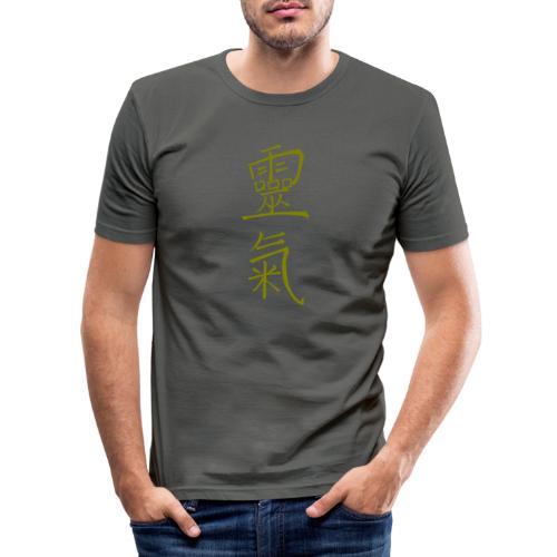 kanji Reiki inforeiki - Maglietta aderente da uomo