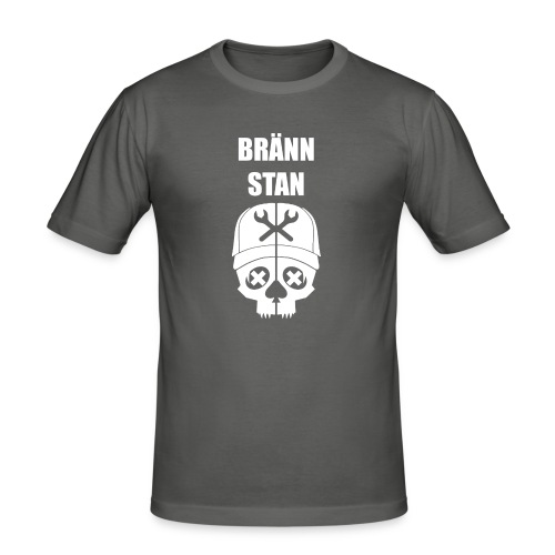 Bränn stan - Slim Fit T-shirt herr