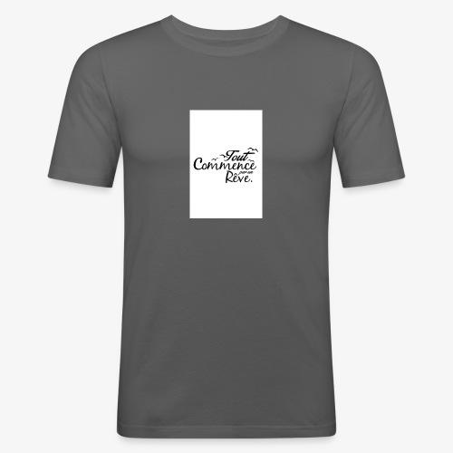 un reve - T-shirt près du corps Homme