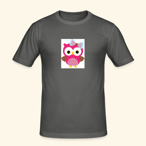 Girly Owl - Men's Slim Fit T-Shirt