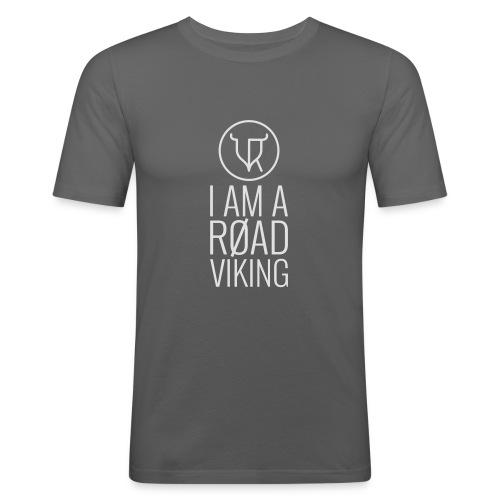 Road Vikings - security jacket - text - Men's Slim Fit T-Shirt
