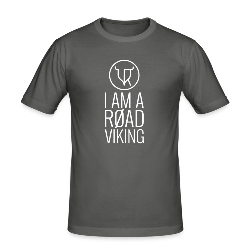 Road Vikings - security jacket - text - Men's Slim Fit T-Shirt