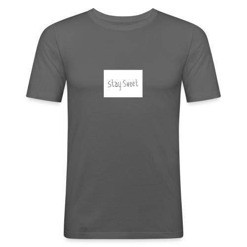 Cake sy LP Merch stay sweet - Männer Slim Fit T-Shirt