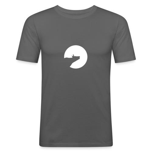 Howling Cow - Männer Slim Fit T-Shirt