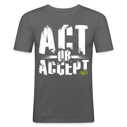 adasdasd - Männer Slim Fit T-Shirt